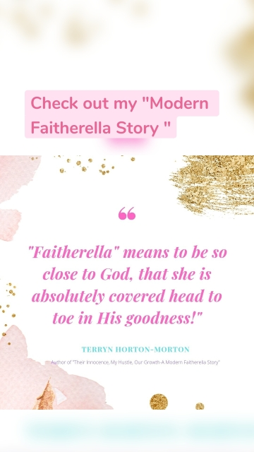 """Check out my """"Modern Faitherella Story """""""